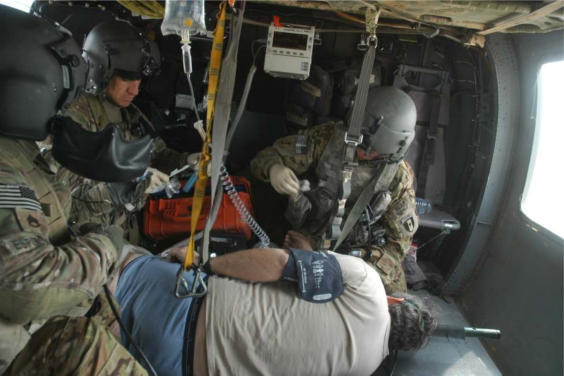 another mission later that day was to medevac a civillian contractor who was having much difficulty breathing